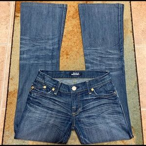 Rock & Republic Jeans, Factory Distressed; Sz 25